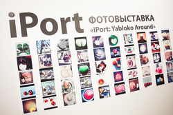 "Instagram ""iPort: Yabloko Around"""